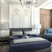 Спальня нео классика