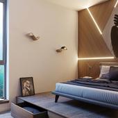 Photographer's bedroom