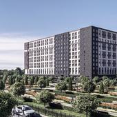 Гостиничный комплекс в Гатчине