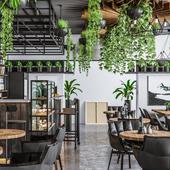 Loft cafe for HOP