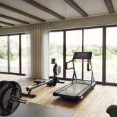 Gym and Billiard room