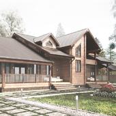 Частный дом 340м2