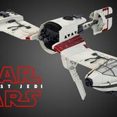 Star Wars Last Jedi Ski Speeder
