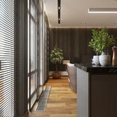 Дизайн и визуализация квартиры (70 кв.м)