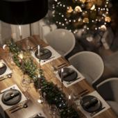 3д визуализация кухни-гостиной