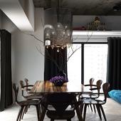 Изысканный современный интерьер квартиры в Тайване