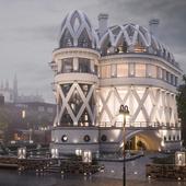 Концепт особняка в Лондоне