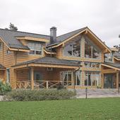 Деревянный дом - брус