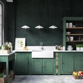 Kitchen Loft (сделано по референсу)