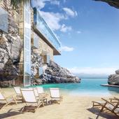 Визуализация SPA отеля на Крите