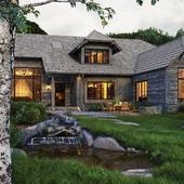House in Sun Valley(сделано по референсу)