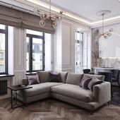 Маленькая однокомнатная квартира в историческом центре Москвы