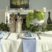 Голубая столовая