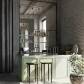 108 Restaurant by SPACE Copenhagen (сделано по референсу)