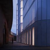 Концептуальный проект отеля в Берлине