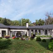 Реконструкция загородного дома под Одессой