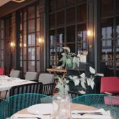 Визуализация интерьера испанского ресторана по референсу