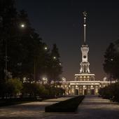 Северный речной вокзал в Москве