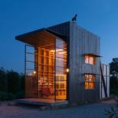 Hut on Sleds by Crosson Clarke Carnachan Archite (сделано по референсу)