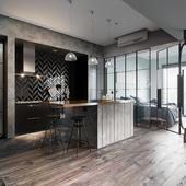 White Interior Design(сделано по референсу)