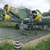 Junkers Ju-52. Экстерьер