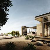 Visualization | Saddle Peak House | Exterior | Reference