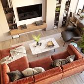 Bright summer apartment