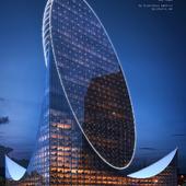 Egg Tower. Qatar, Doha