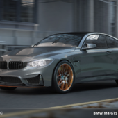 BMW M4 GTS Visualization