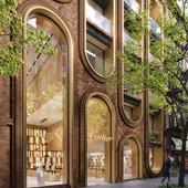 Дизайн здания Cartier в New York