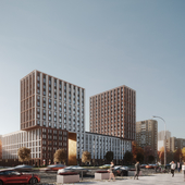 Жилой комплекс в Москве