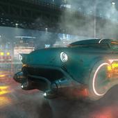 Sci-Fi flying car