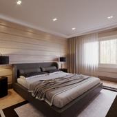 Coffee vibes bedroom