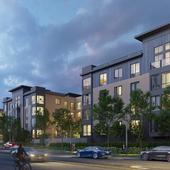 Визуализация жилого комплекса в Сан-Франциско