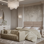 Bedroom from a beautiful home