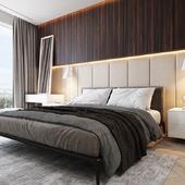 Спальня с сан узлом и гардеробом (по референсу)