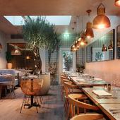 Restaurant Bandol, London (сделано по референсу)