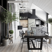 Attic apartament
