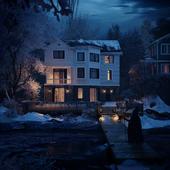 Lake house - Ocean Ave, Amityville, New York, USA