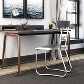 Molteni&C table:NOTE chair:D.235.2