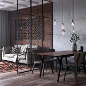 Small dining loft