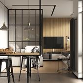 Квартира-студия на Бунинской аллее