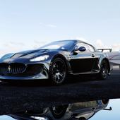 Maserati Granturismo 2018 Stock and tuned