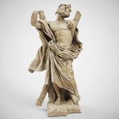 Sculpture of ST.ANDREW THE APOSTLE