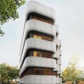 Концепт офисного здания ( The concept of the office building ).