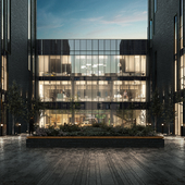 Business center. Garden view.