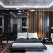 MODERN BEDROOM (LOFT ELEMENTS)