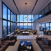 Penthouse in New York, USA