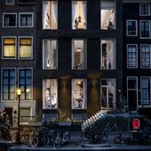 Amsterdam. Facade view.