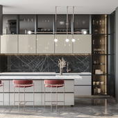 Concept interior in a modern style